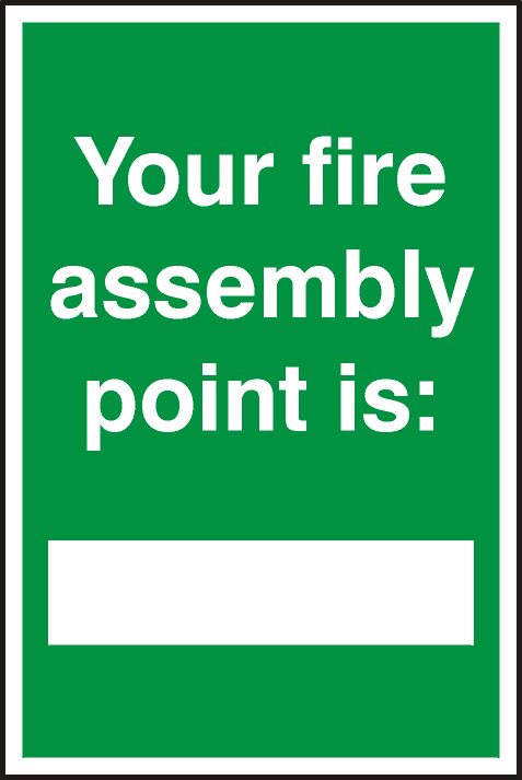 Buy Cheap Fire Assembly Point Compare Office Supplies