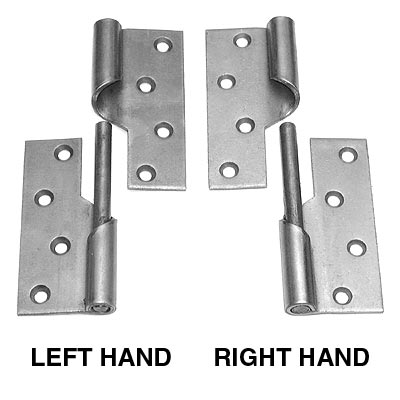 Rising Butt Hinge Steel Left Hand 4in 100mm In Pairs