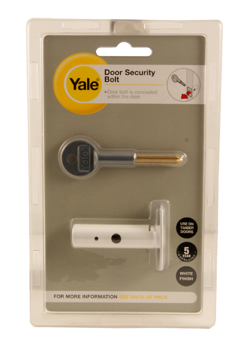 Image of Door Security Mortice Bolt 60mm White
