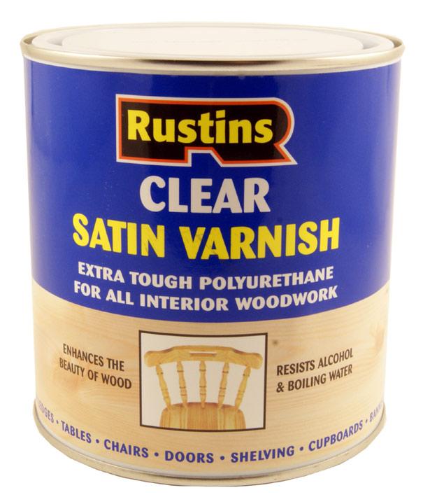 Satin Finish Clear Polyurethane Varnish