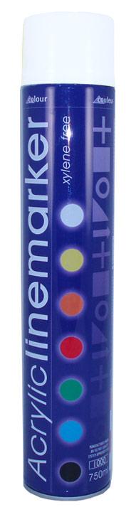 Linemarker Paint Spray White 750ml