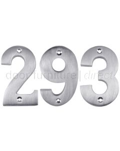 All Door Types Including uPVC in Polished Brass Number 9 Gold House Door Numerals Numbers