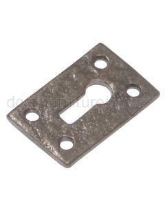 Argent Iron Plain Escutcheon A1502M