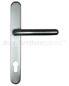 Fab and Fix Balmoral Hardex Graphite Door Handles 92mm Centres