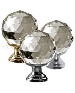 Swarovski Crystal Cabinet Knob 30mm