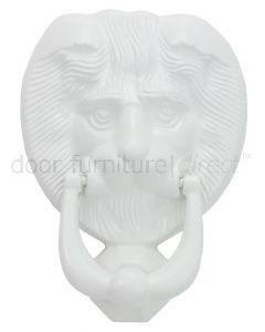 Fab&Fix White Lion Head Door Knocker