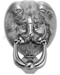 Fab&Fix Hardex Chrome Lion Head Door Knocker