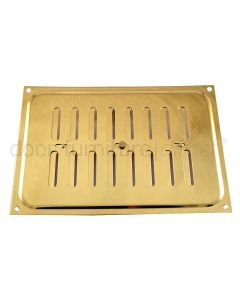 Brassed Adjustable Vent upto 210x152mm Openings
