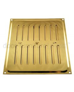 Brassed Adjustable Vent upto 210x229mm Openings