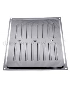 Chromed Adjustable Vent upto 210x229mm Openings