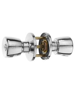 Era Chrome Entrance Door Knobset