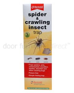 Spider and Crawling Insect Trap