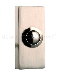 Brushed Nickel Surface Bell Push