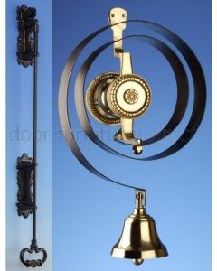 Mechanical Butlers Bell and Black Bell Pull Kit
