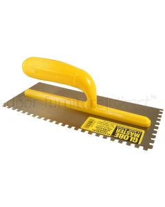Globemaster Serrated Surface Trowel 280x120mm