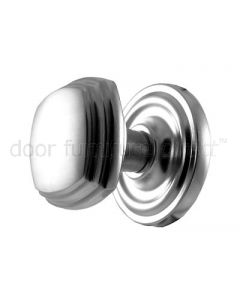 Satin Chrome Square Mortice Door Knobs