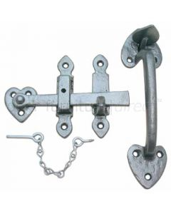 Pewter Finish Thumb Latch 203 x 63mm P3619