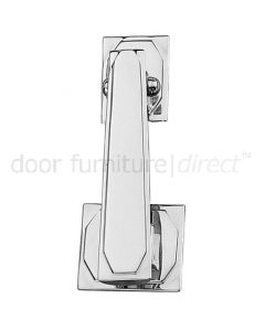 Art Deco Chrome Door Knocker 145mm