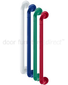 Coloured Nylon Steel Cored Pull Handle 34x600mm Covered Rose