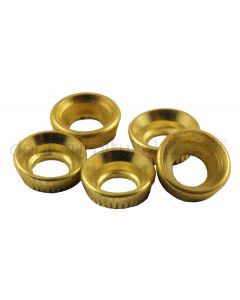 Brass Insert Socket Screw Cups Pack of 10