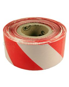 Red and White Barrier Tape 500m