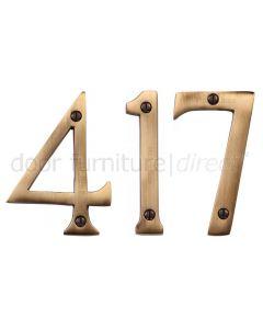 Heritage C1560 Antique Brass 3in (76mm) Numerals 0-9