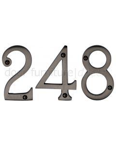 Matt Bronze 76mm (3in) Screw Fix Door Numbers 0-9