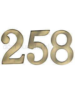 Heritage C1568 Antique Brass Self Adhesive Door Numbers 51mm 0-9