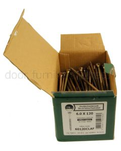 Boxed Long Yellow Classic Countersunk Wood Screws