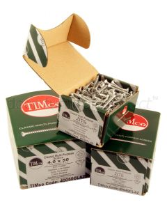 Boxed Zinc Plated Countersunk Woodscrews