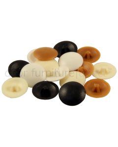 Pozi Screw Cover Caps Pack of 100