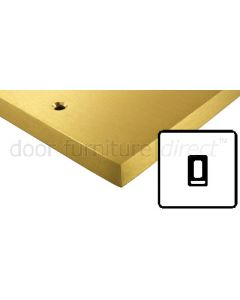 Heritage Contractor Range SAB991BN Satin Brass 1 Gang 2 Way Switch