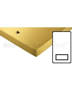 Heritage Contractor Range SAB985W Satin Brass Shaver Socket