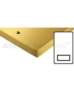 Heritage Contractor Range SAB985BN Satin Brass Shaver Socket