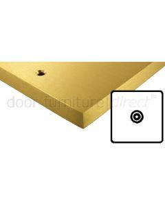 Heritage Contractor Range SAB923BN Satin Brass Isolated Coax Socket