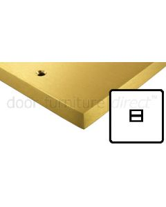 Heritage Contractor Range SAB966BN Satin Brass Phone Extension