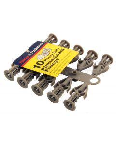 Heavy Duty Plasterboard Fixings Pack of 10