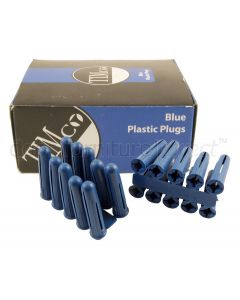 Box of 40 Blue Wall Plugs