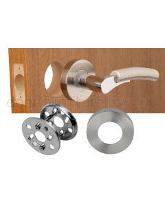 Knobset Replacement Lever Door Handle Kits