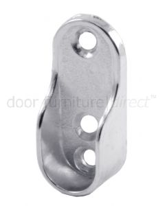 Chrome Plated Oval End Socket