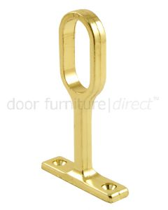 Brass Plated Oval Centre Bracket