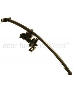 Fanlight Opener Leggot Black 14in (356mm)