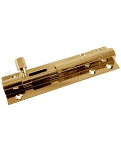 Brass Sliding Door Bolt Straight