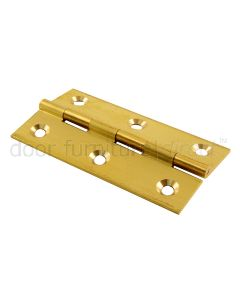 Brass Butt Hinges 2.1/2x1.3/8in (64x35mm) in Prs