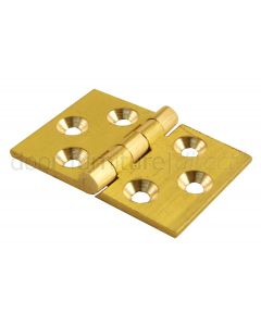 Brass Back Flap Hinge 32x48mm in Pairs