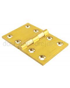 Brass Back Flap Hinge 2x3in (51x76mm)