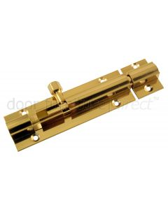 Heavy Brass Straight Door Bolts