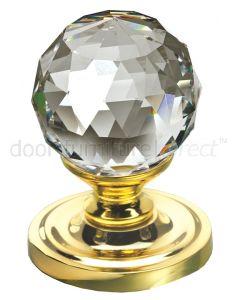 Swarovski Crystal Mortice Door Knobs 50mm