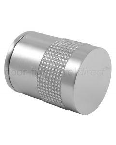 Swarovski Crystal Encrusted Cylinder Mortice Door Knobs 50mm