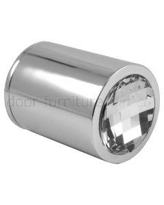Swarovski Crystal Cylindrical Door Knobs 50mm